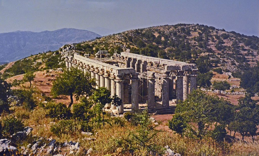 Picture of ruin of Greek temple
