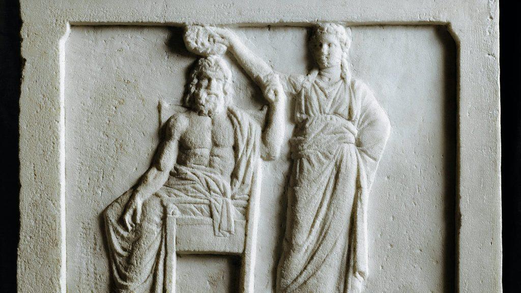 picture of antic Roman statue